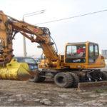 Аренда экскаватор полноповоротный HONDAi 95- W