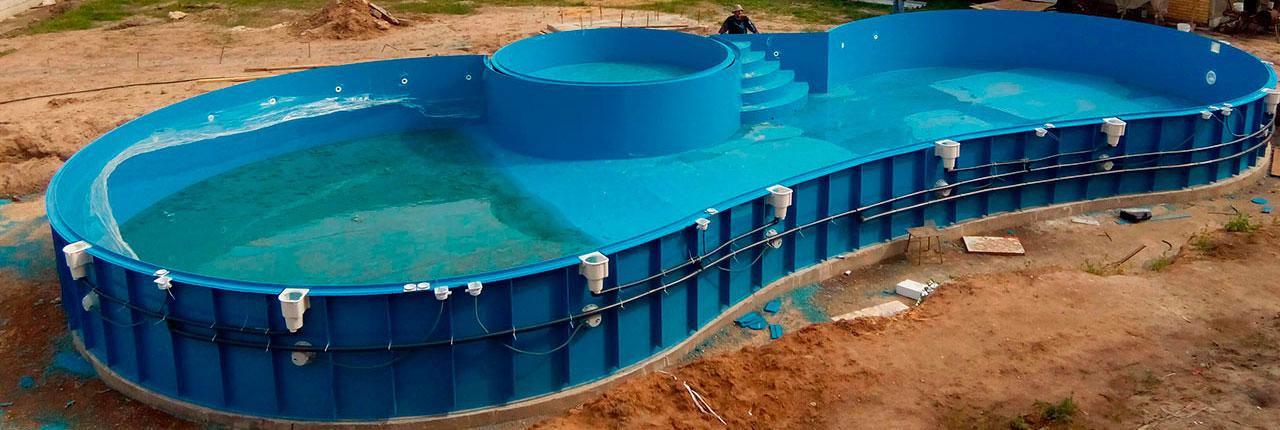 Изготовление бассейнов под ключ