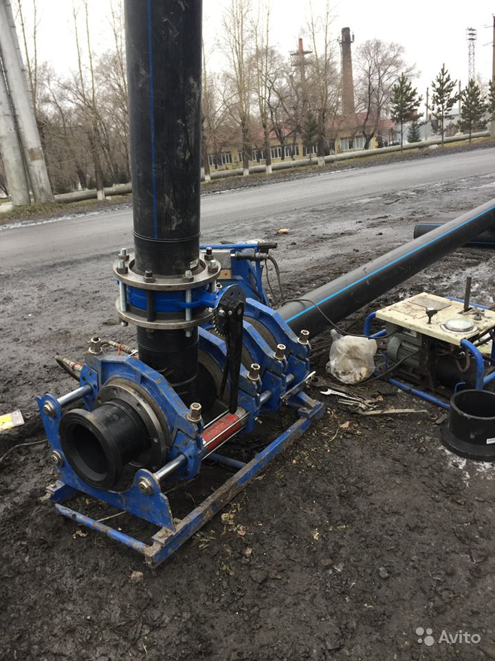 Сварка, монтаж ПНД, ПЭ канализации, водопровода