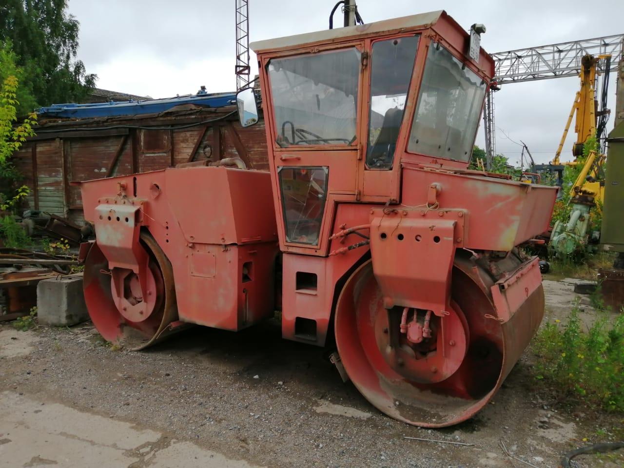 Дорожный виброкаток Bomag BW 161 AD-2